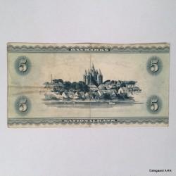 5 krone 1950'erne