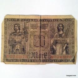 5 forskellige tyske sedler