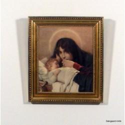 Grædende mor